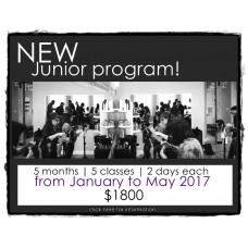 JUNIOR PROGRAM | PROGRAMME POUR JUNIOR *** Full Session - 10 days *** MONTREAL (Qc, Canada)